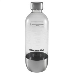 Reusable Carbonating Bottle - Single Pack (Fits model KSS1121) - Brushed Stainless Steel