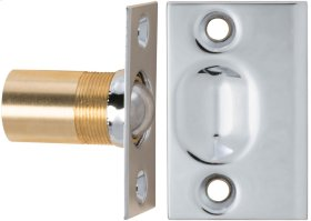 Ball Catch in (US26 Polished Chrome Plated)