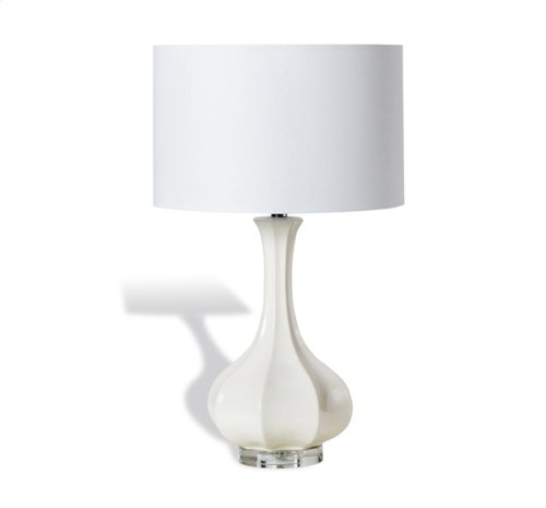 Alexis Table Lamp - Ivory