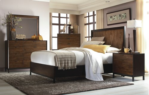 Kateri Curved Panel Bed CA King