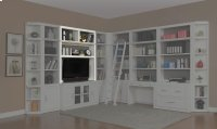 "56"" Bookcase TV Hutch Product Image"