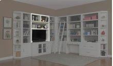 """56"""" Bookcase TV Hutch"""
