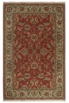 Agra Red Rectangle 8ft 8in x 10ft