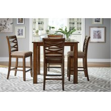 Counter Height Table W/4 Chairs