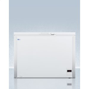 SummitCommercially Listed 8 CU.FT. Frost-free Chest Refrigerator In White With Digital Thermostat for General Purpose Applications; Replaces Scfr70
