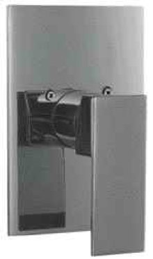 AB5501 Brushed Nickel Shower Valve Mixer with Square Lever Handle
