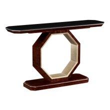 Black Eucalyptus Console Table