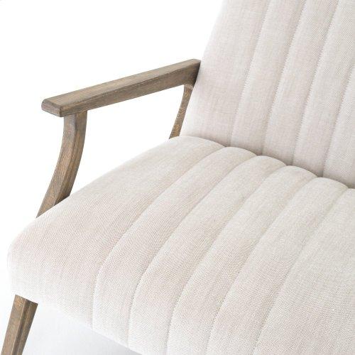 Burton Chair-natural White