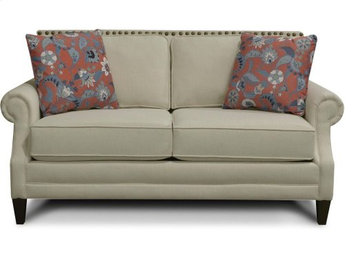 Palmer Loveseat with Nails 7L06N
