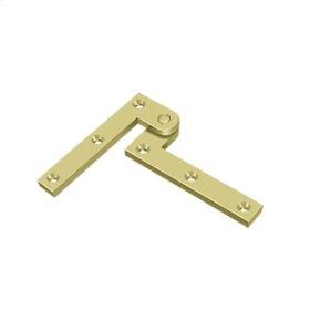 "3 7/8"" x 5/8"" x 1 5/8"" Hinge - Polished Brass"