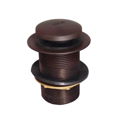 Extended Push Button Assembly - Oil Rubbed Bronze