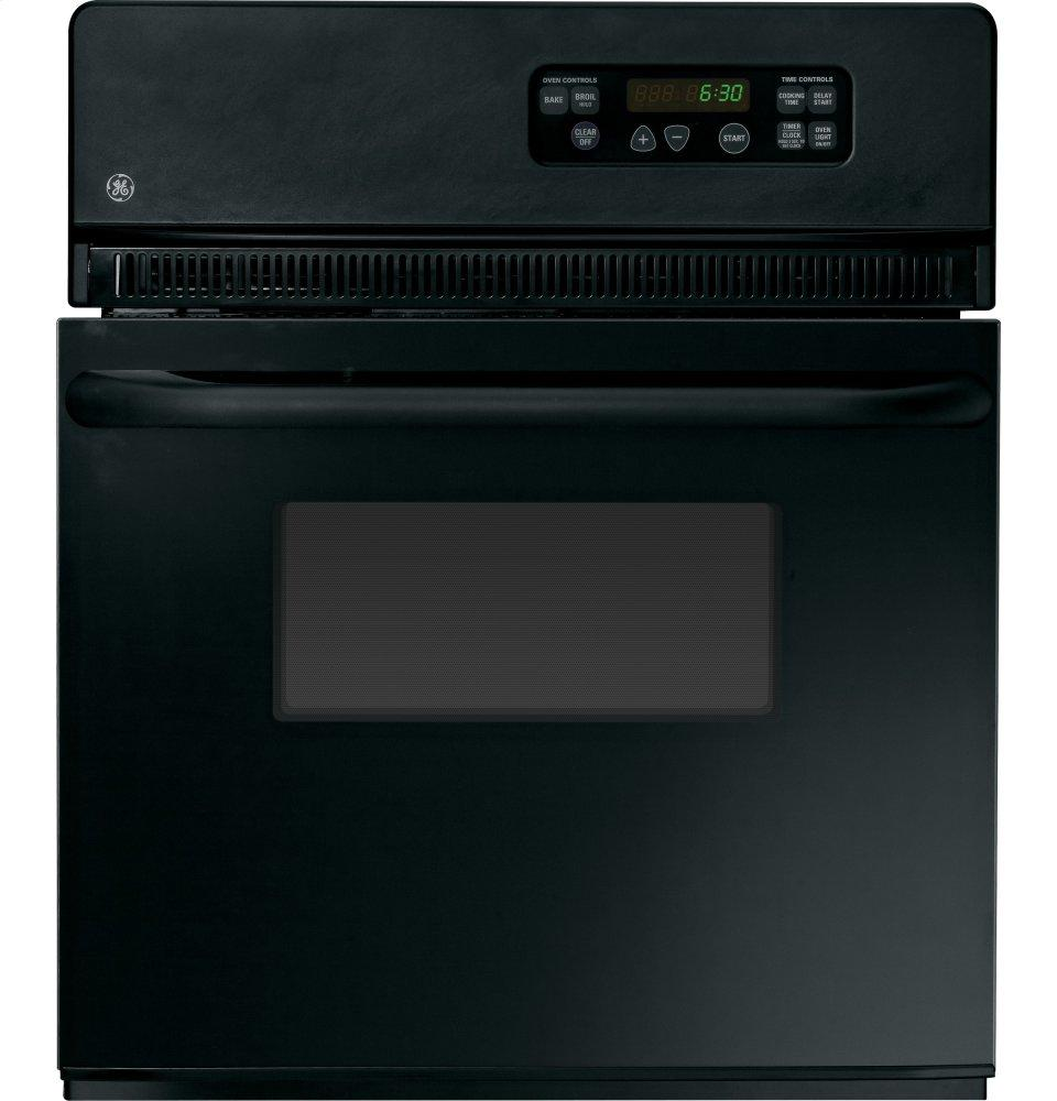 "GE(R) 24"" Electric Single Standard Clean Wall Oven