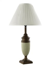 Ada Ivory/Bronze Table Lamp Product Image