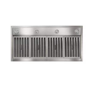 "Colonne - 42"" Stainless Steel Chimney Range Hood with iQ12 Blower System, 1200 CFM"