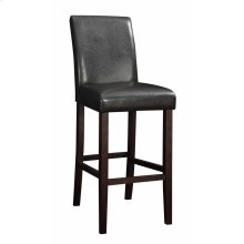 Contemporary Dark Brown Parsons Bar Stool