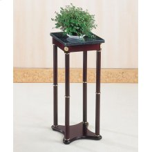 Traditional Merlot Square Plant Stand