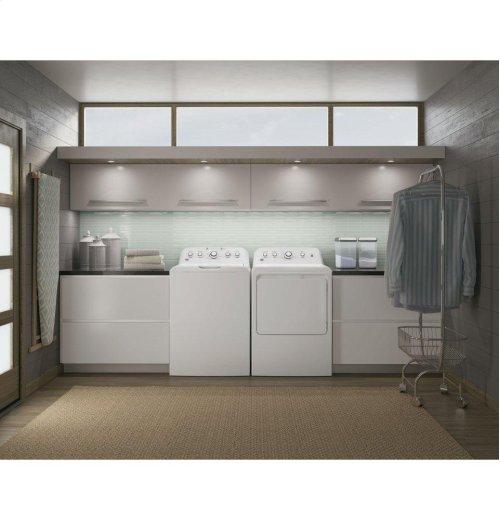 GE® 4.2 DOE cu. ft. stainless steel capacity washer