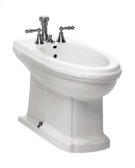 Barrymore Floorstanding Bidet in White Product Image