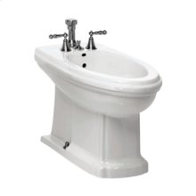 Barrymore Floorstanding Bidet in White