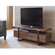 Atticus Industrial Hazelnut TV Console