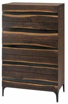 Prana dresser  seared oak / black cast iron