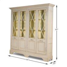 Four Door Kentucky Bourbon Cabinet