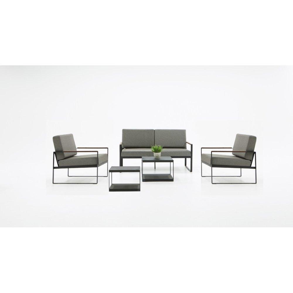 Renava Corozal Outdoor Grey Loveseat Sofa Set
