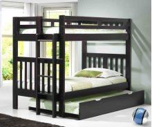 Naples Bunk With Short Ladder With Trundle