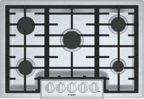 """800 Series, 30"""" Gas Cooktop, 5 Burners, Stainless Steel"""