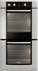 "500 Series 27"" Double Wall Oven HBN5650UC - Stainless steel Product Image"