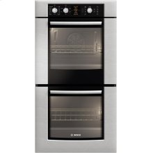 """500 Series 27"""" Double Wall Oven HBN5650UC - Stainless steel"""