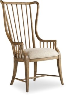 Sanctuary Tall Spindle Arm Chair