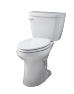 """White Viper® 1.28 Gpf 14"""" Rough-in Two-piece Elongated Ergoheight Toilet"""
