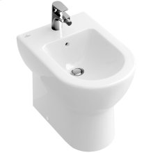 Floor standing bidet (over-the-rim style) - White Alpin