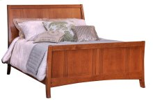 Great Lakes Queen Sleigh Bed