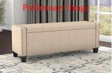 Uph Storage Bench - Linen