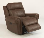 Forrest Fabric Power Gliding Recliner with Power Headrest Product Image