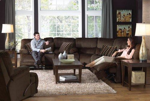 CATNAPPER 61221 Riley Coffee Power Reclining Sofa