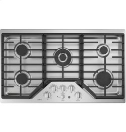 """36"""" Built-In Deep-Recessed Edge-to-Edge Gas Cooktop"""