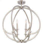 Orion Foyer Piece in Brushed Nickel
