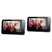 "Dual 8"" Screen Mobile DVD System"