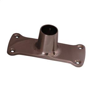 Jumbo Shower Rod Flange - Brushed Nickel Product Image