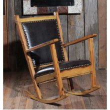 Fools Gold Rocking Chair