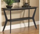 Caliente Black Sofa Table Product Image