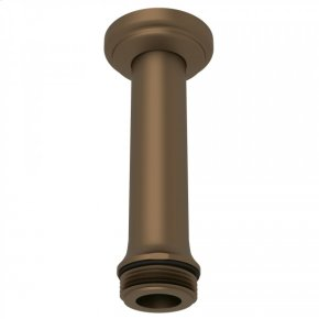 """English Bronze Perrin & Rowe 4"""" Ceiling Mount Shower Arm"""