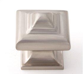 Geometric Knob A1520 - Satin Nickel
