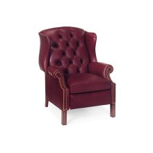 Browning Tufted Wing Chair Recliner