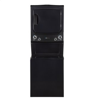 GE Unitized Spacemaker™ 3.9 DOE cu. ft. Capacity Washer and 5.9 cu. ft. Capcity Electric Dryer Diamond Grey -GUD37EEMNDG