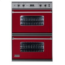 """Apple Red 36"""" Double Electric Oven - VEDO (36"""" Double Electric Oven)"""