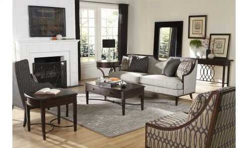 Intrigue Harper Mineral Wing Chair